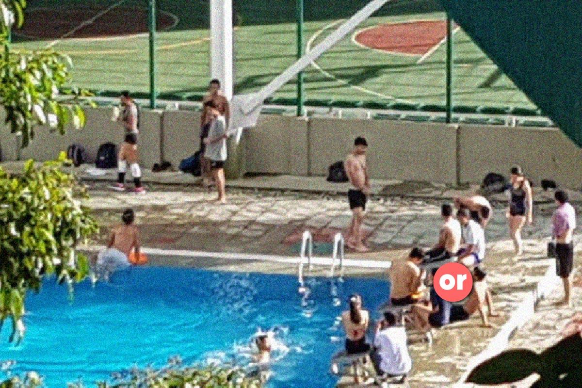 La realidad quindiana vista desde la piscina de la Universidad del Quindío