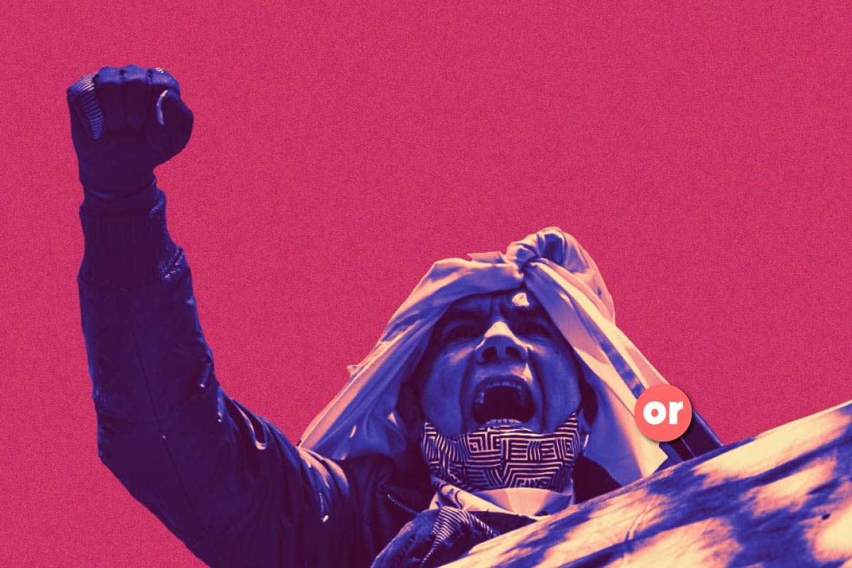 Elogio a la primera línea: entre la represión y la utopía