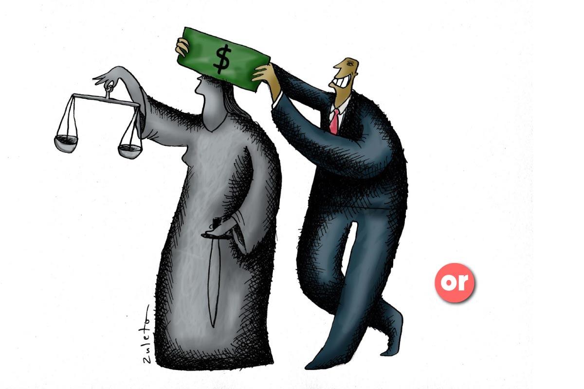 El panorama de quienes hacen y no la pagan bajo el sueño de los justos